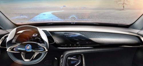 Inside the Buick Enspire Concept