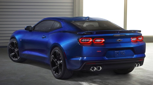 2019 Camaro Back-end